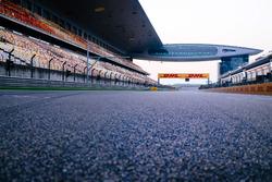 Vue générale du Shanghai International Circuit