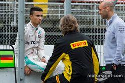 Pascal Wehrlein, Mercedes F1 Team testing 2017-spec Pirelli tyres