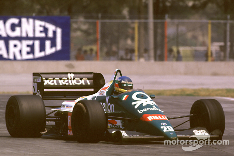1986: Gerhard Berger, Benetton