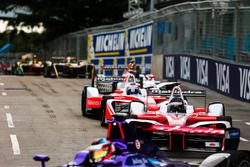 Nick Heidfeld, Mahindra Racing, et Felix Rosenqvist, Mahindra Racing