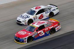 Austin Dillon, Richard Childress Racing, Chevrolet; Trevor Bayne, Roush Fenway Racing, Ford