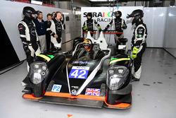 #42 Strakka Racing, Gibson 015S - Nissan: Jonny Kane, Lewis Williamson