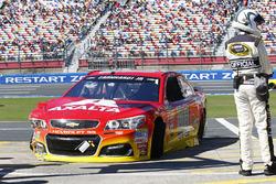 Alex Bowman, Hendrick Motorsports Chevrolet, na crash