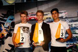 Beste Rookie 2016: 1. Nicklas Nielsen, Neuhauser Racing; 2. Juri Vips, Prema Powerteam; 3. Juan Manu