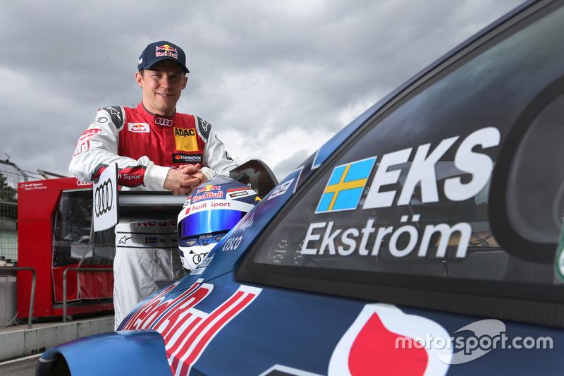 Mattias Ekström, Audi Sport Team Abt Sportsline, Audi RS5 DTM at Audi season launch
