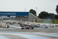 Старт - Ник Кэссиди, Prema Powerteam Dallara F312 – Mercedes-Benz