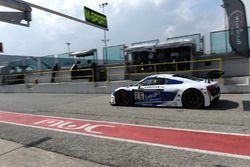 Mike Parisy, Christopher Haase, Audi R8 LMS, Sainteloc Racing