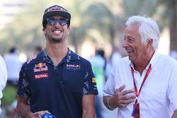 Daniel Ricciardo, Red Bull Racing avec Bob Constanduros, Journaliste et commentateur