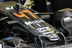 The McLaren MP4-31 for Stoffel Vandoorne, McLaren