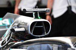 Mercedes-AMG F1 W09 EQ Power+ caja de aire