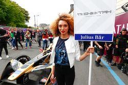 La grid girl de Jean-Eric Vergne, Techeetah