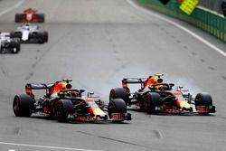 Daniel Ricciardo, Red Bull Racing RB14 Tag Heuer, batalla con Max Verstappen, Red Bull Racing RB14 Tag Heuer