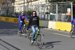 Bikes on track