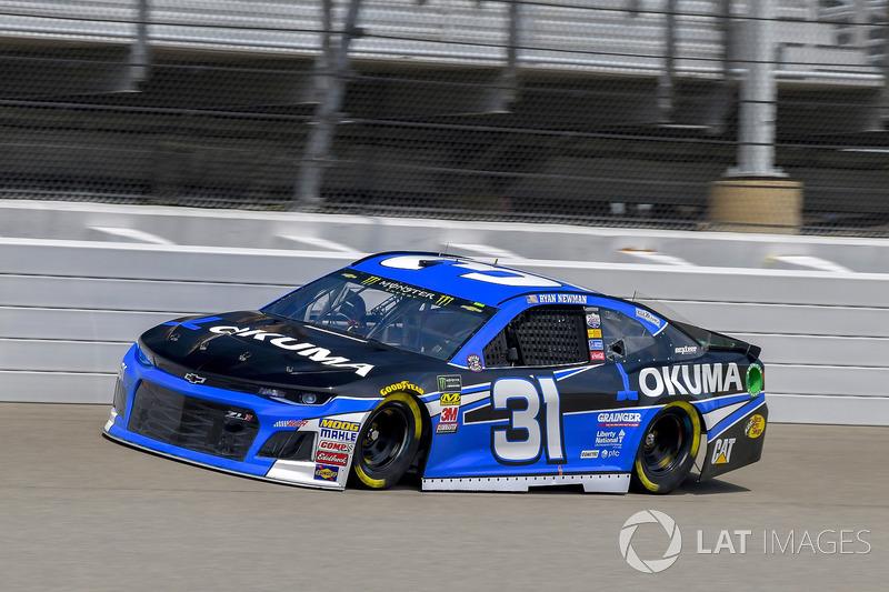 11. Ryan Newman, Richard Childress Racing, Chevrolet Camaro Okuma