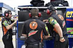 Il crew chief di Chase Elliott, Hendrick Motorsports, Chevrolet Camaro Mountain Dew / Little Caesars
