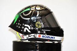 Andrea Iannone, Team Suzuki MotoGP, avec un casque spécial