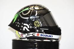 Andrea Iannone, Team Suzuki MotoGP, special helmet livery