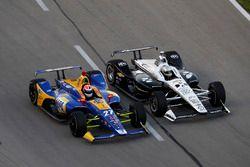 Alexander Rossi, Andretti Autosport Honda, Simon Pagenaud, Team Penske Chevrolet