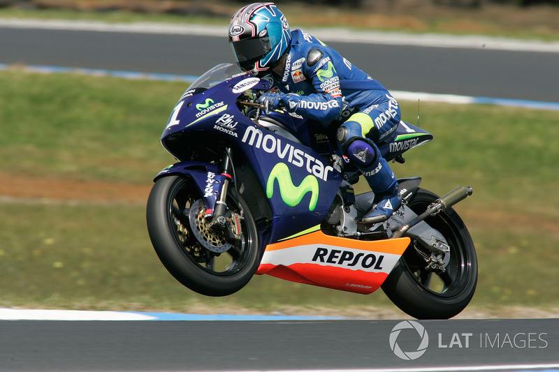 2005, 250cc: Campeón Mundial con 309 puntos
