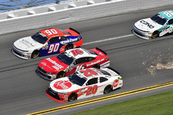 Christopher Bell, Joe Gibbs Racing, Rheem Toyota Camry, Ryan Reed, Roush Fenway Racing, Drive Down A