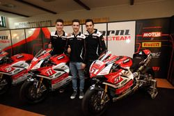 Michele Pirro, Barni Racing Team, Samuele Cavalieri, Barni Racing Team, Matteo Ferrari, Barni Racing