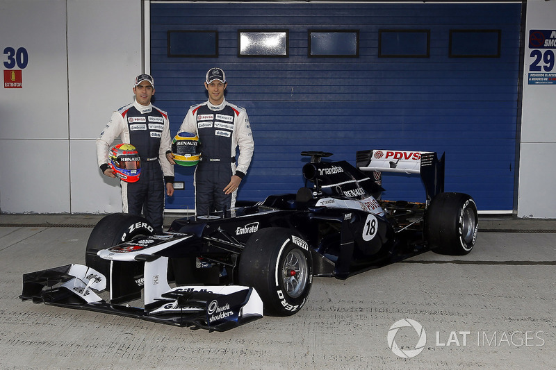 2012: Williams FW34