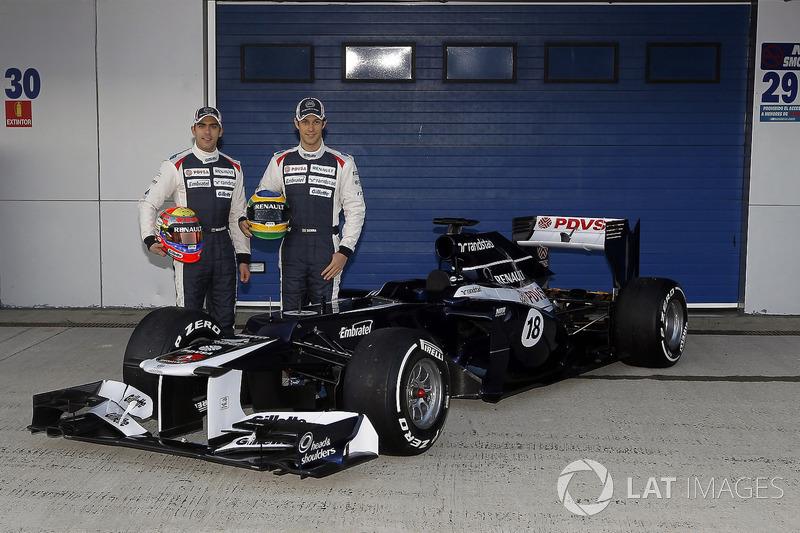2012: Williams FW34