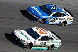 Gray Gaulding, BK Racing, Toyota Camry Chris Buescher, JTG Daugherty Racing Chevrolet Camaro