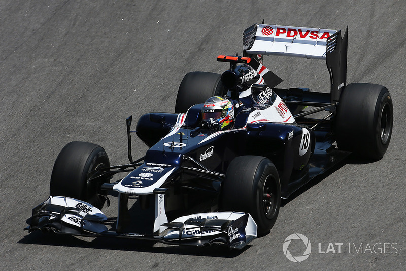 2012 (Pastor Maldonado, Williams-Renault FW34)
