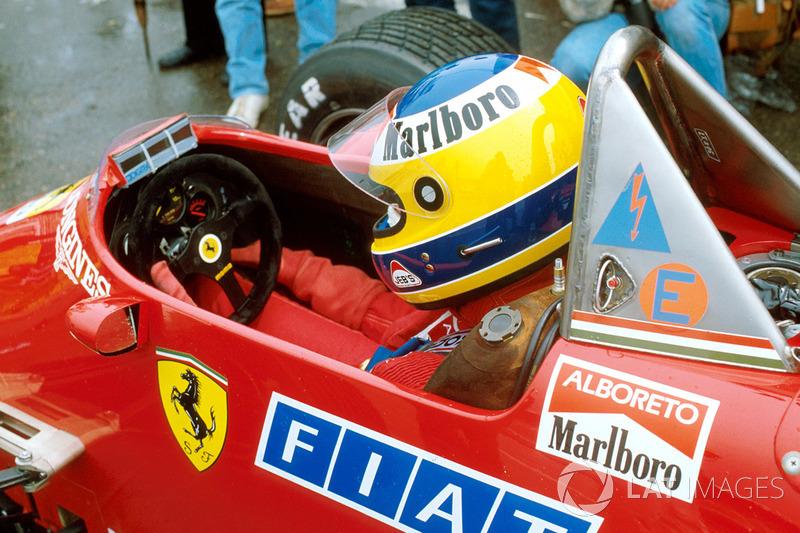 Michele Alboreto, Ferrari 126C4