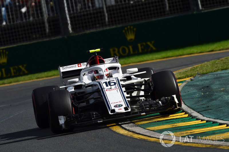 Charles Leclerc - GP de Australia 2018 (13º)