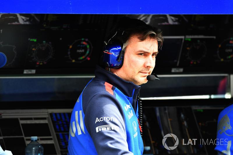 James Key, Director Técnico de Scuderia Toro Rosso