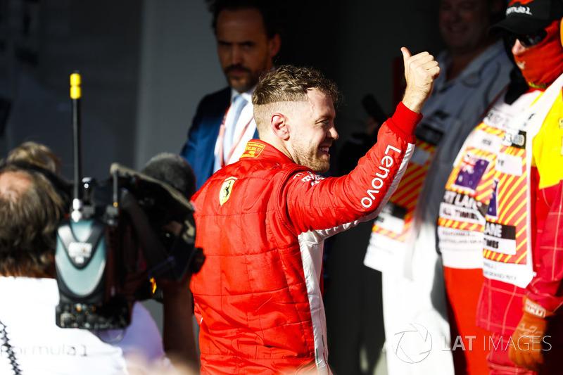 2 місце — Себастьян Феттель, Ferrari — 317