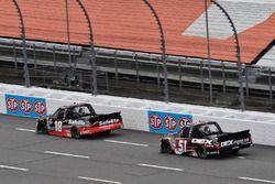 Noah Gragson, Kyle Busch Motorsports, Toyota Tundra Safelite, Harrison Burton, Kyle Busch Motorsport