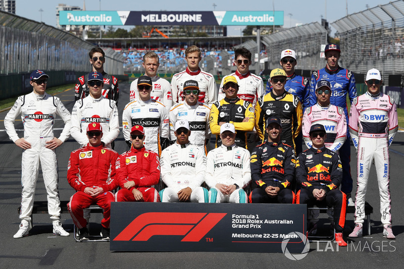 Clase 2018 Fórmula 1