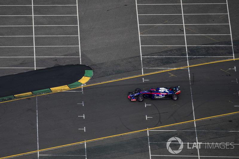 16 місце — Брендон Хартлі, Toro Rosso. Умовний бал — 6,574