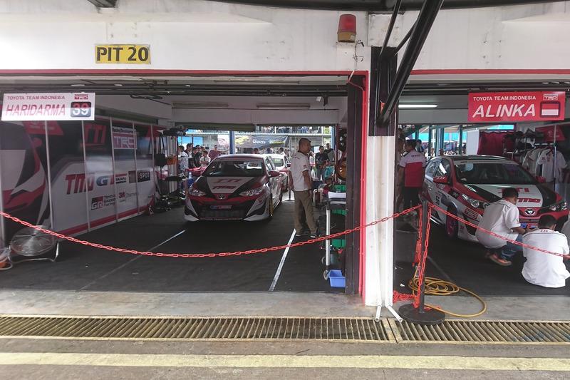 Paddock Toyota Team Indonesia