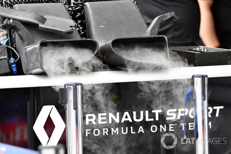 Охолодження Renault Sport F1 Team