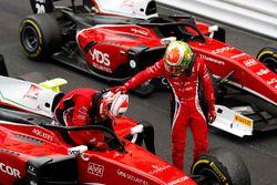 Antonio Fuoco, Charouz Racing System et Louis Deletraz, Charouz Racing System