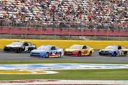 B.J. McLeod, Rick Ware Racing, Chevrolet Camaro Prefund Capital, Ryan Blaney, Team Penske, Ford Fusion PPG, Joey Logano, Team Penske, Ford Fusion Shell Pennzoil, e Martin Truex Jr., Furniture Row Racing, Toyota Camry Bass Pro Shops/5-hour ENERGY