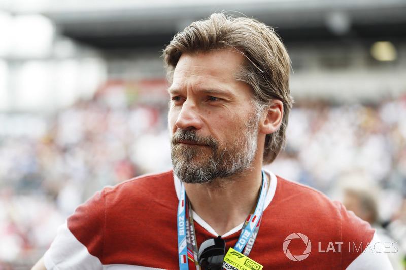 El actor Nikolaj Coster-Waldau, Jaime Lannister en Juego de Tronos