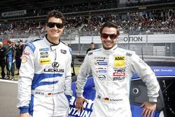#42 Ring Racing with Novel Lexus RCF: Dominik Farnbacher, Mario Farnbacher