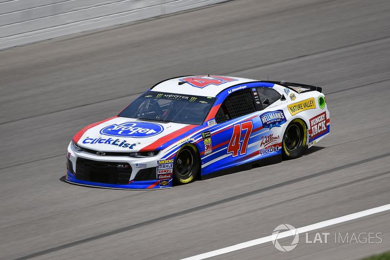 18. A.J. Allmendinger, JTG Daugherty Racing, Chevrolet Camaro Kroger ClickList