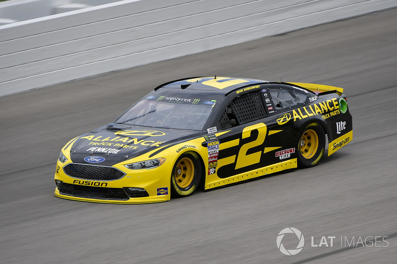5. Brad Keselowski, Team Penske, Ford Fusion Alliance Truck Parts