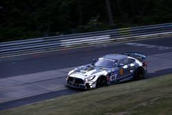 #66 Black Falcon Team Identica Mercedes-AMG GT4: Carlos Gomez, Stefan Karg, Fidel Leib, Kim-Luis Schramm
