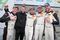 Podium: Race winners #912 Manthey Racing Porsche 911 GT3 R: Richard Lietz, Patrick Pilet, Frédéric Makowiecki, Nick Tandy