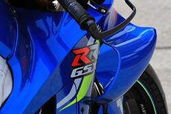 Обтічник на мотоциклі Алекса Рінса, Team Suzuki MotoGP
