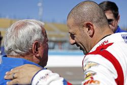 Tony Kanaan, A.J. Foyt Enterprises Chevrolet et A.J. Foyt