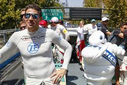 Edoardo Mortara, Venturi Formula E Team en el desfile de pilotos
