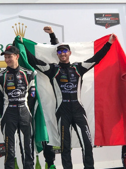 Mirko Bortolotti, Orange1 GRT Team, GTD Class podium